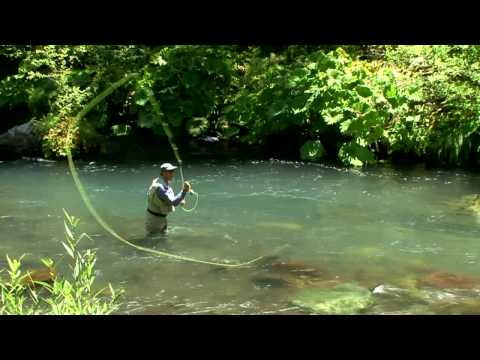 Hd - Single-handed Fly Rod Casting Using Spey Casting Techniques