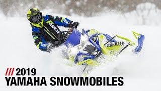 7. 2019 Yamaha Snowmobiles - Full Line