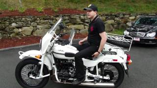 7. Ural Gear-Up, Custom White - Presentation by Ural of New England, Boxborough, MA