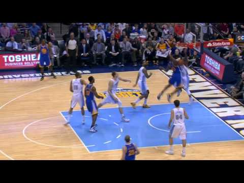 Harrison - Harrison Barnes gets past the defense and slams it home on Aaron Brooks. Visit nba.com/video for more highlights. About the NBA: The NBA is the premier profe...