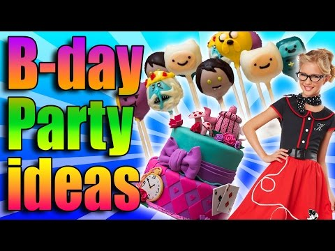 1950s - Birthday parties are the best kind of party, but they're even better when you have an awesome theme like Adventure Time, 1950s dance party, or a sweet tea party inspired by Alice in Wonderland!...