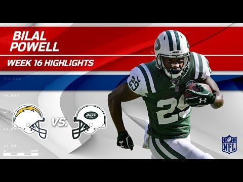 Video: Bilal Powell Highlights | Chargers vs. Jets | NFL Wk 16 Player Highlights