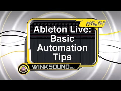 Ableton Live: Basic Automation Tips | WinkSound