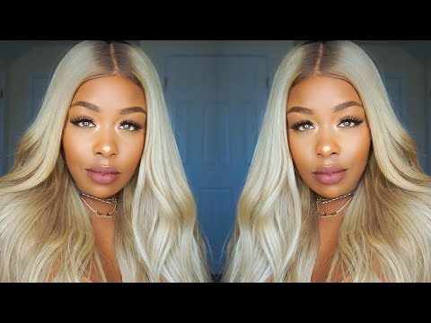 Hair color - How I Ash Blonde My 613 hair ft. Yolissa Hair + GIVEAWAY