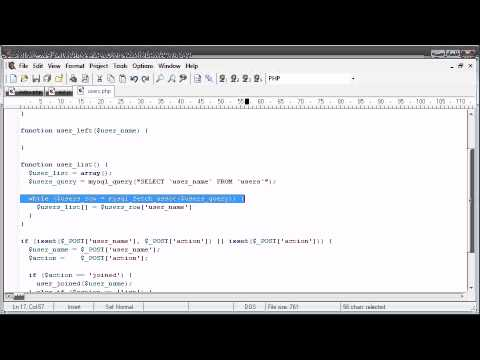 jQuery - Users online sample application Part 4