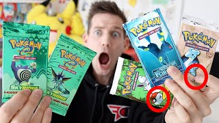 OPENING $3400+ OF OLD RARE POKÉMON PACKS!!!!!! by Unlisted Leaf