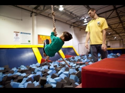 evantubehd's - Evan and a group of friends celebrate Evan's 7th Birthday at Sky High Sports: The Trampoline Place. The kids had a blast playing trampoline dodgeball and bou...