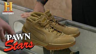 Video Pawn Stars: Lebron James Air Zoom Generation Nike Shoes (Season 12) | History MP3, 3GP, MP4, WEBM, AVI, FLV Desember 2018