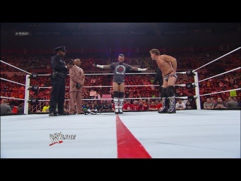 CM Punk takes a field sobriety test: Raw, April 23, 2012