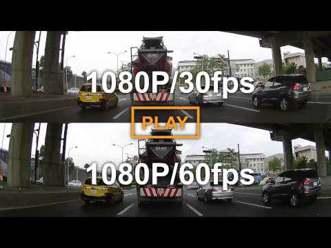 30fps - High Speed 1080p 60fps video performs extreme smooth visual effect.