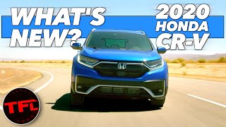Let Me Tell You Exactly What's Changed In The 2020 Honda CR-V! (Hint: The Smaller Engine Is DEAD) by The Fast Lane Car
