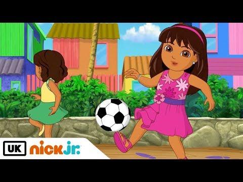 Dora and Friends | Turn and Kick! | Nick Jr. UK