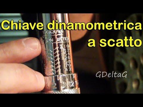 Chiave dinamometrica a scatto - cos'è e come funziona