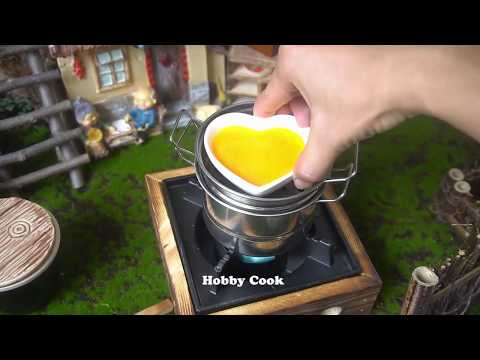 #Food Video 🍳❤️  Heart-shaped Steamed Eggs 🍳❤️  Tiny Cooking | Hobby Cook #1