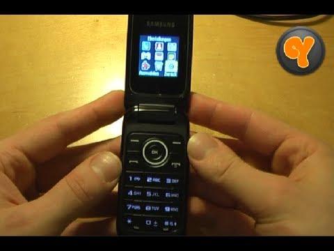 Test: Samsung GT-E1190 Klapp Handy Dual Band 1,43
