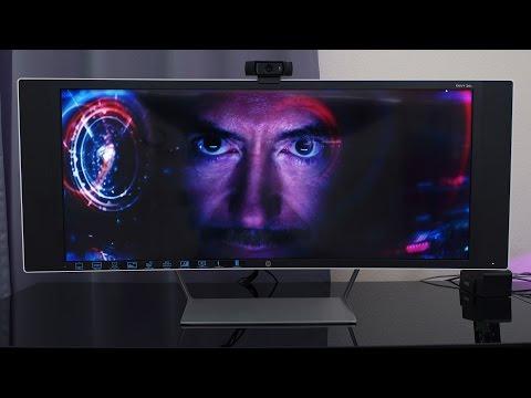 HP Envy 34C Ultrawide Curved Monitor w/ Speakers!
