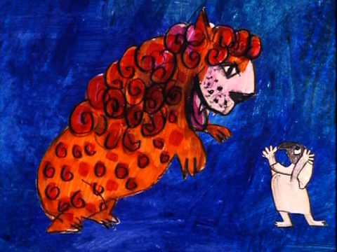 Art -  Pulcinella (Emanuele Luzzati, 1973)