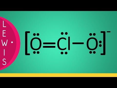 Strutture di Lewis • Ione Clorito [ClO2]-