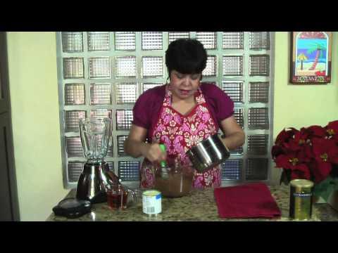 Coquito Puertorriqueño de Chocolate – Puerto Rican Coquito