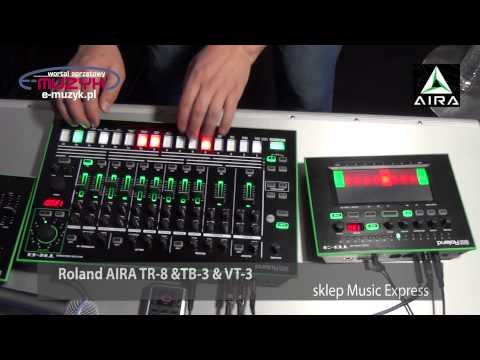 4 New Roland Aira Instruments Announced Tr 08 Drum