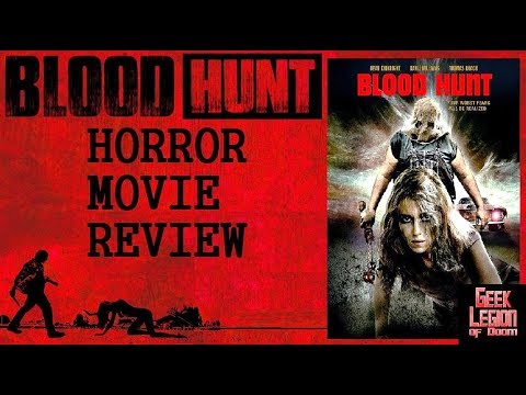 BLOOD HUNT ( 2017 Dean Kirkright ) Rape Revenge Horror Movie Review