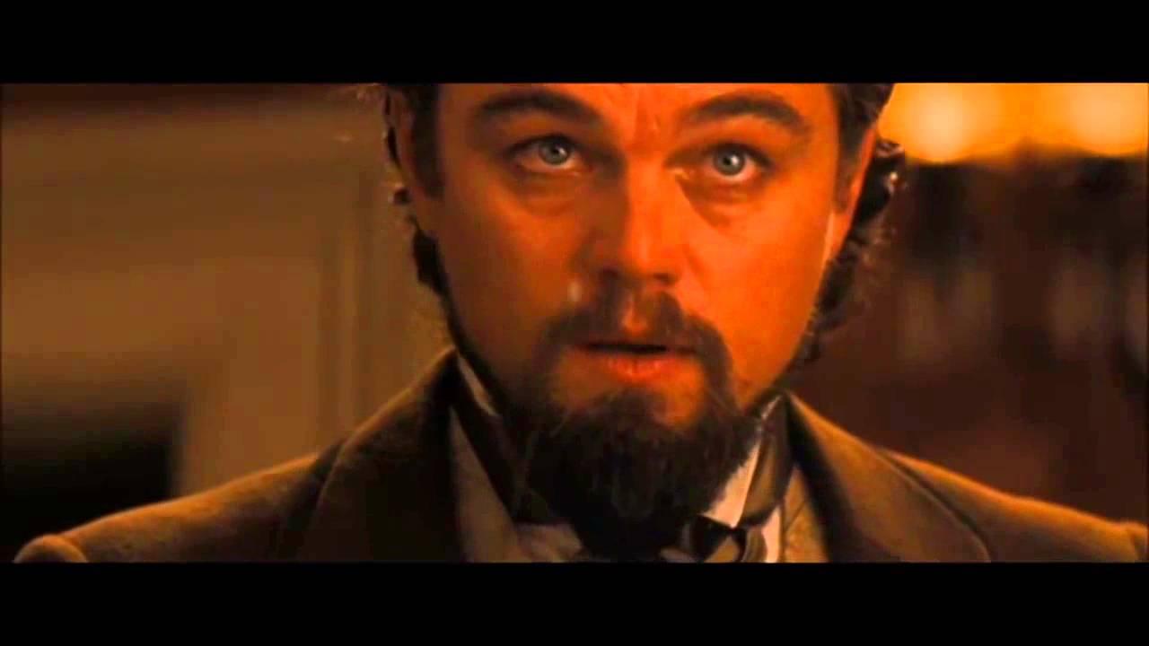 Django Unchained - Calvin Candie (Leonardo DiCaprio) goes crazy