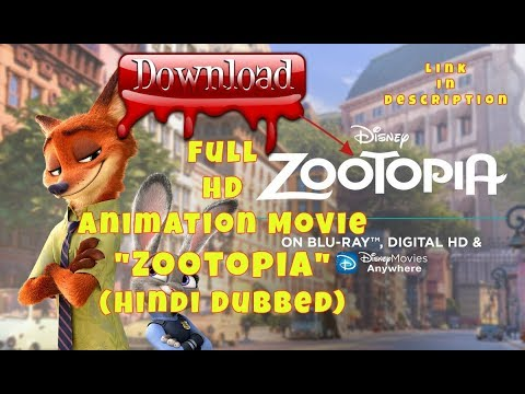 How to download Zootopia Movie- Full HD Hindi Dubbed