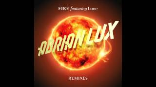 Adrian Lux - Fire (R3hab's Bigroom Remix) (Cover Art)