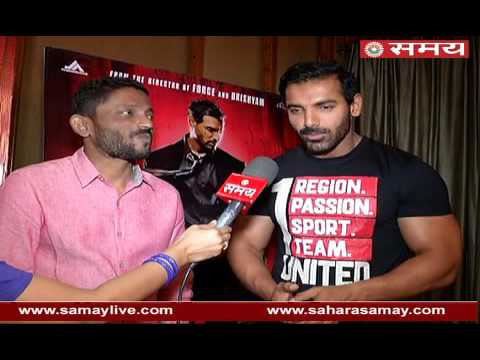 An exclusive interview of John Abraham