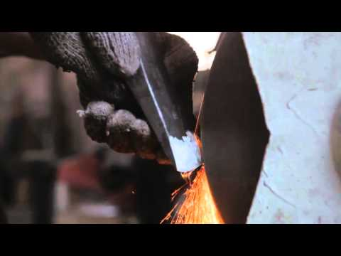 The Birth Of A Tool  Part 1  Axe Making by John Neeman