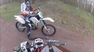 8. 2007 KTM 450 SX-F First Ride