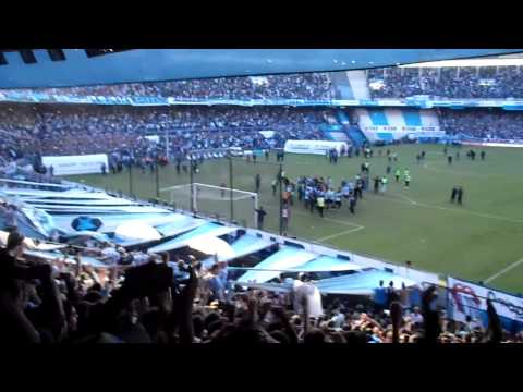 Hinchada de Racing 1 Independiente 0 - Fiesta y locura en Avellaneda - La Guardia Imperial - Racing Club