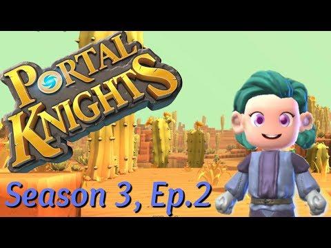 🍄Portal Knights, Season 3 Episode 2: Exploring in search for copper ore.