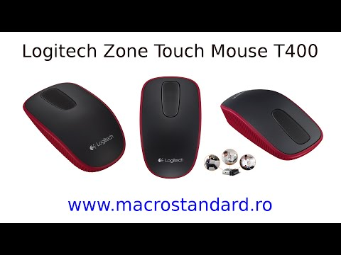 Mouse Wireless Logitech Zone Touch T400