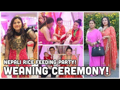(Nepali Rice Feeding Ceremony - Weaning Ceremony - Food, Fun & Dance)