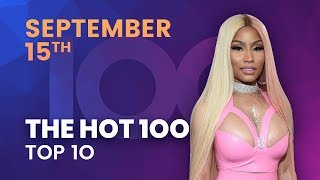 Early Release! Billboard Hot 100 Top 10 September 15th 2018 Countdown | Official