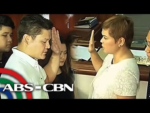 TV Patrol: Inday Sara at Paolo Duterte, nanumpa na sa Davao City