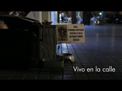 Vivo en la calle – Reportaje sobre las personas sin hogar