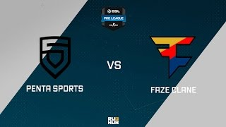 FaZe vs PENTA, game 1