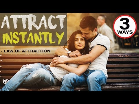 3 Ways to Attract a Specific Person INSTANTLY into Your Life | Law of Attraction