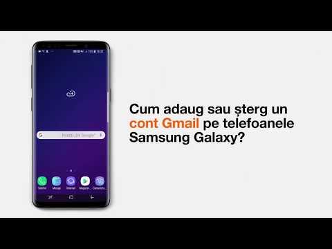 Cum adaug/șterg un cont Gmail pe telefoanele Samsung Galaxy?