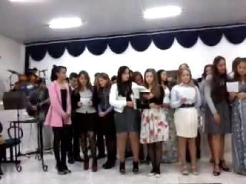 apresentação na Igreja Evangelica Assembleia de Deus de Reserva do Iguaçu