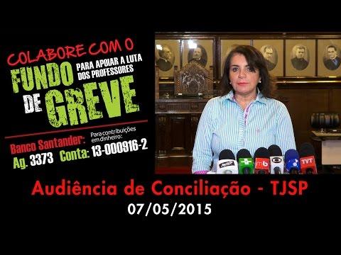 Audiência de Conciliação - TJSP - 07/05/2015