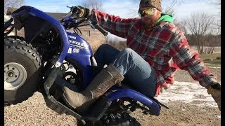 3. Riding Epic Wheelies on a Kids Quad | Yamaha Grizzly 80