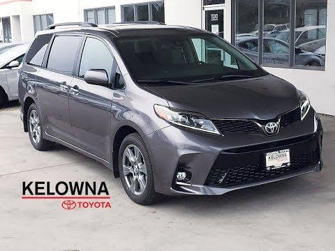 New 2019 Toyota Sienna SE I Technology Pkg. I Moonroof