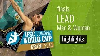 IFSC Climbing World Cup Kranj Highlights Lead Finals by International Federation of Sport Climbing
