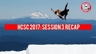 "Highlights from Session 3 of High Cascade Snowboard Camp featuring Jake Kuzyk, Riley Nickerson, Jed Sky, Reid Smith, Parker Szumowski, Forest Bailey, Luke Winkelmann, Al Grogan, River Richer, Max Warbington, Rob Roether, Tim Eddy, Robby Meehan, Dusty Miller, Boody, Pat Fava, Camper Andrew Zimmers ""Chrome Dome"", Cooper Whittier, Shane Chappell, Brady Lem, and Jordan Morse. Filmed by Jake Howell, Brent McCarron, Zak Peterson, and Miles Perreault.Edited by Brent McCarron."