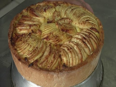 torta di mele con crema pasticcera - la videoricetta