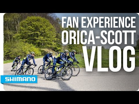 VLOG - Fan Experience with Orica-Scott | SHIMANO