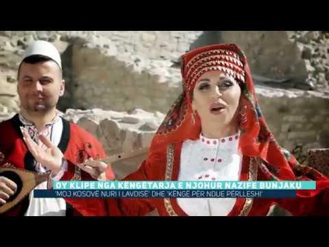 Dy videoklipe nga këngëtarja e njohur Nazife Bunjaku (Video)
